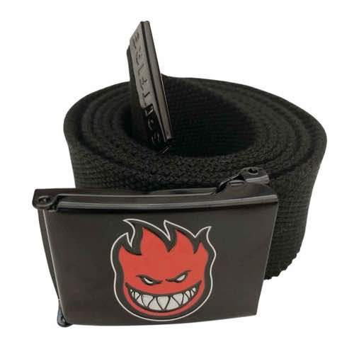 Spitfire - Big Head Belt - Black / Red