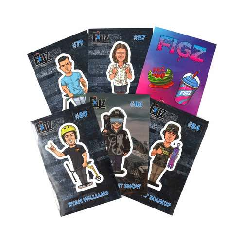 FIGZ Collection | Sticker Collector Pack | Pack #1