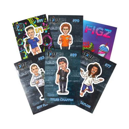 FIGZ Collection | Sticker Collector Pack | Pack #2