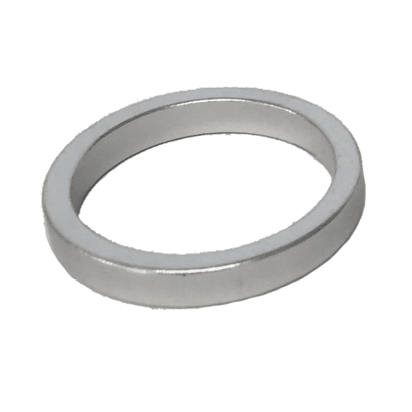 Headset Spacer - Alloy 5mm - Silver