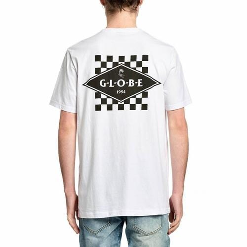 Globe | Check Out Tee | White | Youth