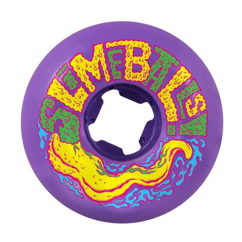 Santa Cruz - Slimeballs Slarve Vomit Mini 97A Skateboard Wheels - 58mm - Purple