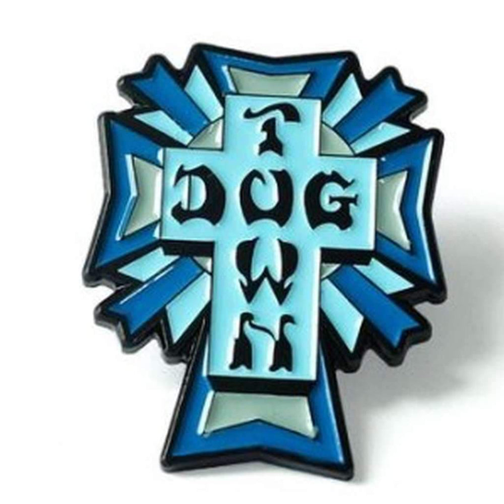 Dogtown Cross Logo Enamel Pin