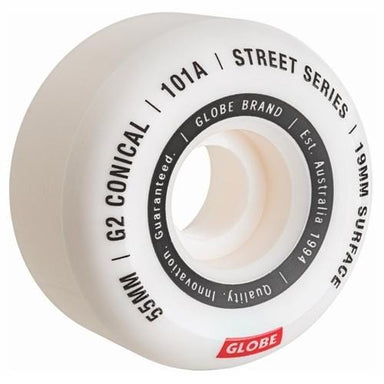 Globe - G2 101A Conical Street Skateboard Wheels - 53mm