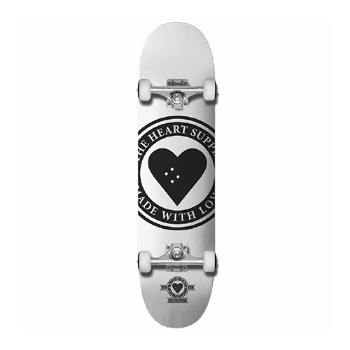 The Heart Supply | White | Badge | 8.25