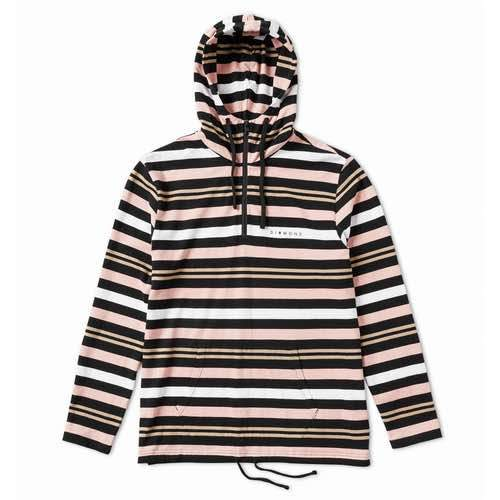 Diamond Supply Co. - Marquise Stripe Hoodie - Black