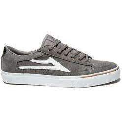 Lakai Ellis Grey/White Suede Shoe