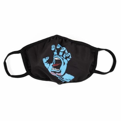 Santa Cruz | Screaming Hand Mask | Black