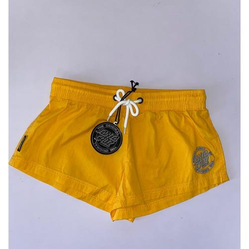 Santa Cruz | Womens Beach Shorts | Marigold