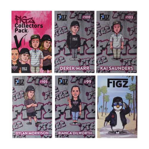 FIGZ Collection | Sticker Collector Pack | Pack #5