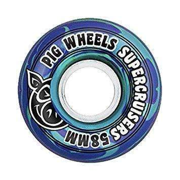 Pig Super Cruiser 85A Blue 58mm Wheel