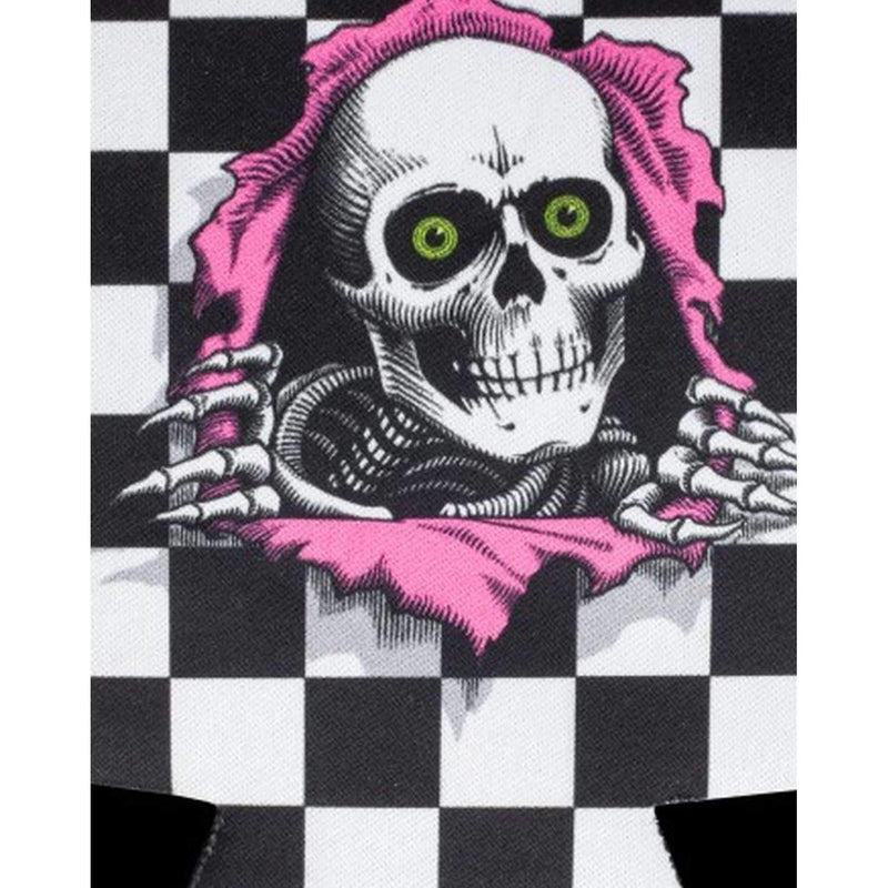 Powell Peralta Ripper Checker Drink Koozie - Stubby Cooler