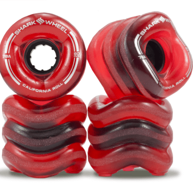 Shark Wheels - Sidewinder Translucent Red - 70mm x 78A