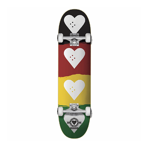 The Heart Supply | Quad Logo | Complete Skateboard | 8.25