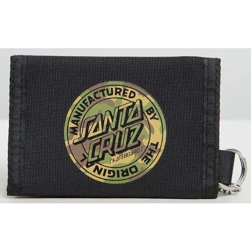 Santa Cruz - Camo MFG Dot Velcro Wallet