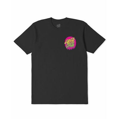 Santa Cruz | Rad Dot Tee | Youth | Antique Black