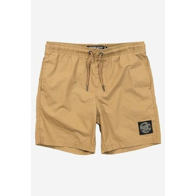 Santa Cruz | Cruizer | Solid Beach Shorts | Youth | Tan