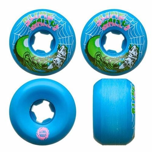 Santa Cruz | Skateboard Wheels | Slime Balls | Web Speed Balls | 56mm 99A