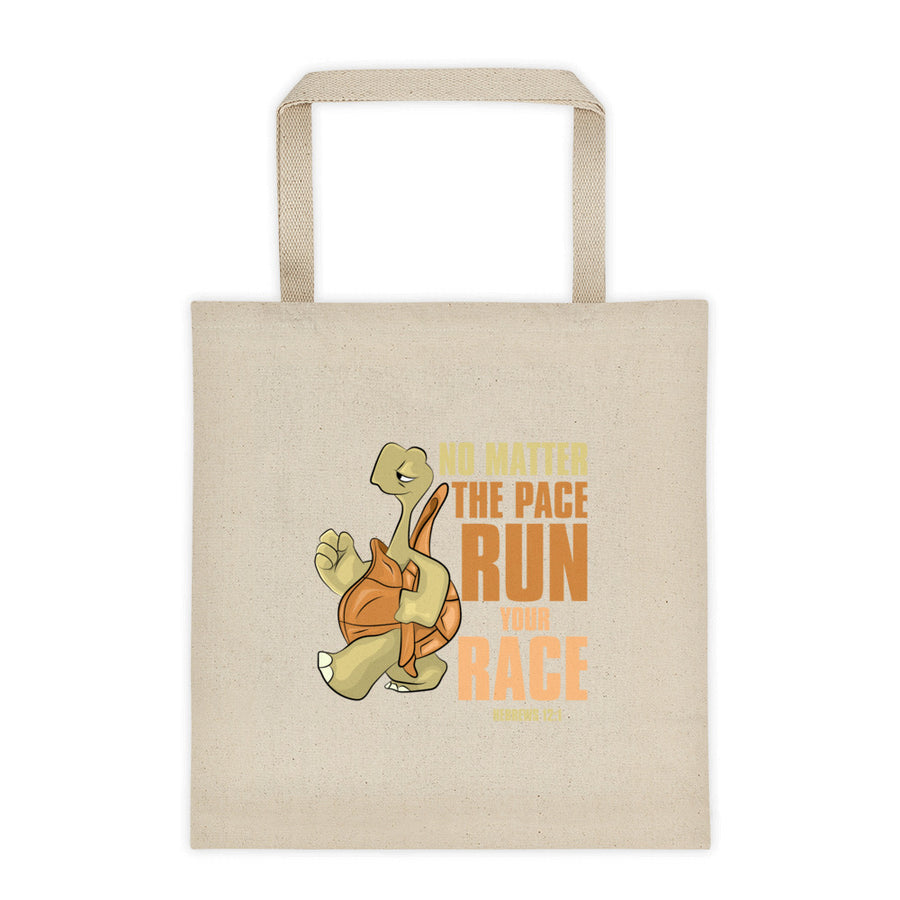 Striding Standly Tote bag