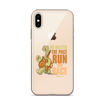 No Matter The Pace iPhone Case