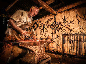 Ron Fitzpatrick artisan and blacksmith Australia