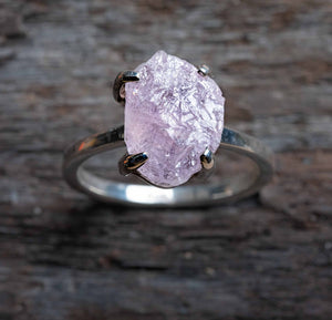 Untamed Ring  - Morganite Claw Setting