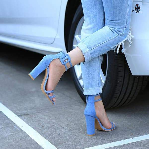 2lovit Transparent High Heel Shoes