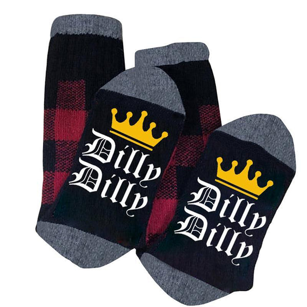 Chellysun Dillp Printed Fashion Warm Long Winter Socks - Chellysun