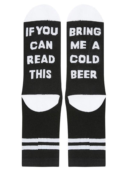 2lovit Beer Novelty Crew Socks