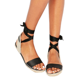 2lovit Women's Lace-up Sandals