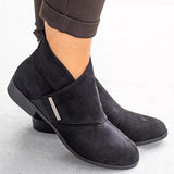 2lovit Women's Zipper Ankle Boot