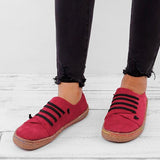 2lovit Suede Soft Lazy Casual Loafers Flats