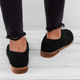 2lovit Vintage Slip On PU Leather Loafers