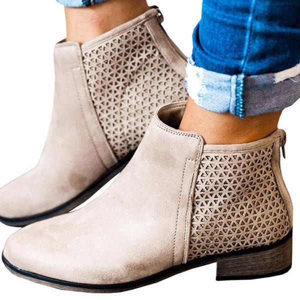 2lovit Women's Unique Ankle Bootie