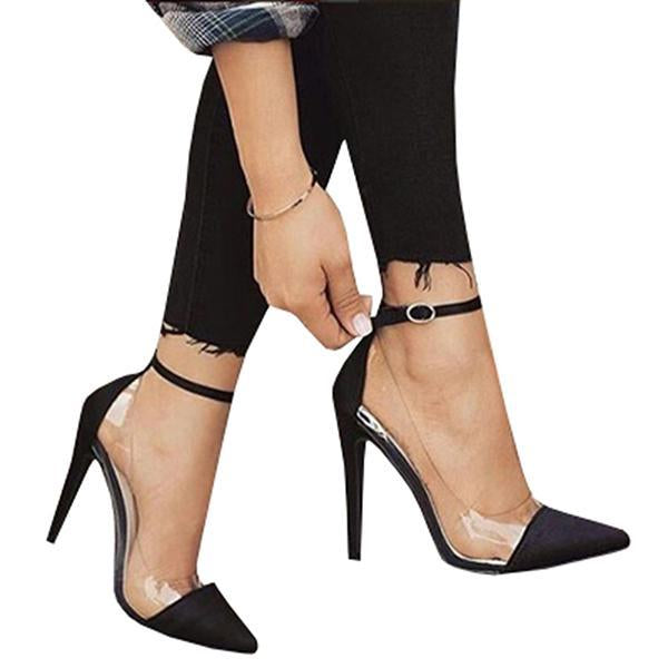 2lovit Patent Leather Buckle Pumps