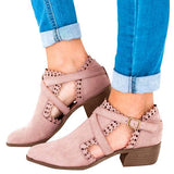 2lovit Cut Out Scalloped Booties