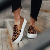 2lovit Women Fashion Printed Flat Sneakers