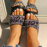 2lovit Stylish Daily Open Toe Flat Sandals