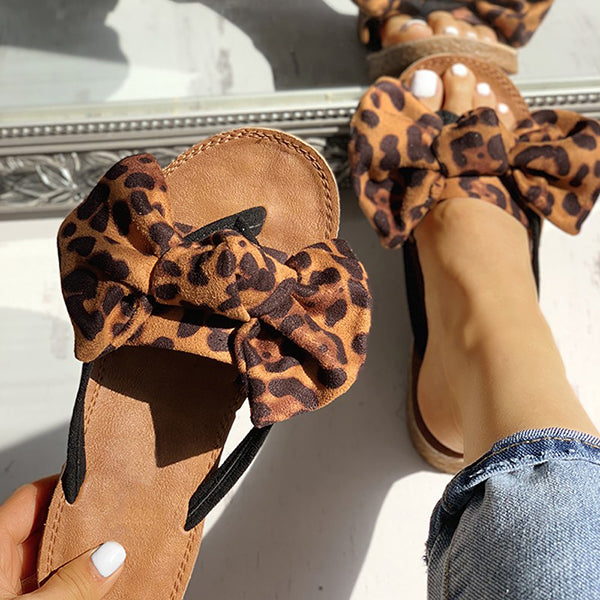 2lovit Amazing Fashion Leopard Slippers
