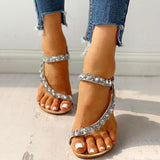 2lovit Women Dating Shining Sandals