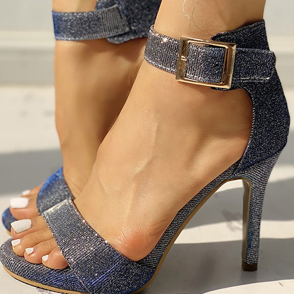 2lovit Fashion Adjustable Buckle Pumps