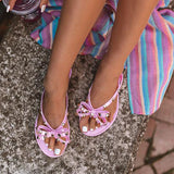 2lovit Rosette Daily Comfy Slippers