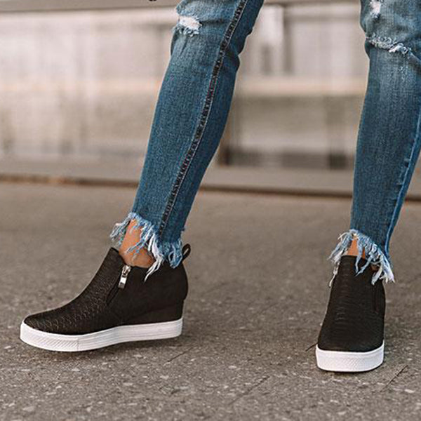 2lovit Wedge Daily Comfy Sneakers