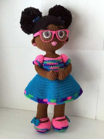 Custom Doll with African American Skin from My Kinda Thing