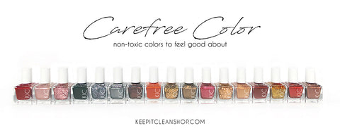 Non Toxic Nail Polish from Keep it Clean Shop