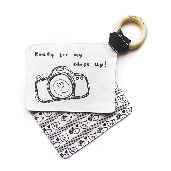 Baby Crinkle Toys - Camera Baby Gift