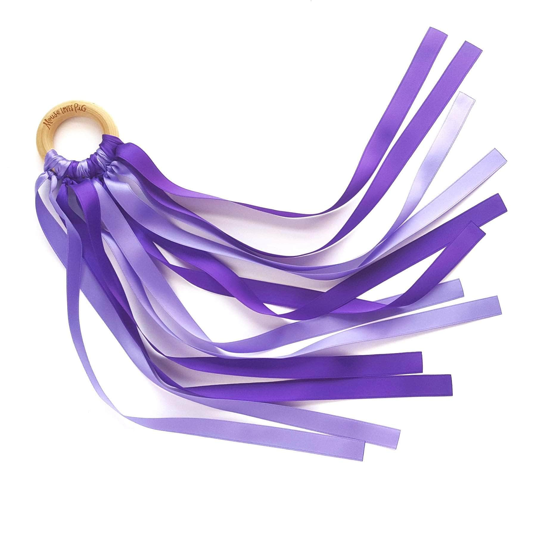 Purple Dance Ribbon Wand