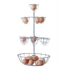 Egg Basket Modern Farmhouse egg basket three tier egg basket display egg carrier egg bucket farm egg holder chicken egg baskets egg display