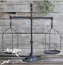 Farmhouse scale balance scale decorative scale modern farmhouse rustic centerpieces scale vintage scale antique scale rustic centerpiece