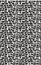 Removable Wallpaper Black and white wallpaper Peel & Stick wallpaper Self Adhesive Temporary Decal painted dots modern wallpaper apartment